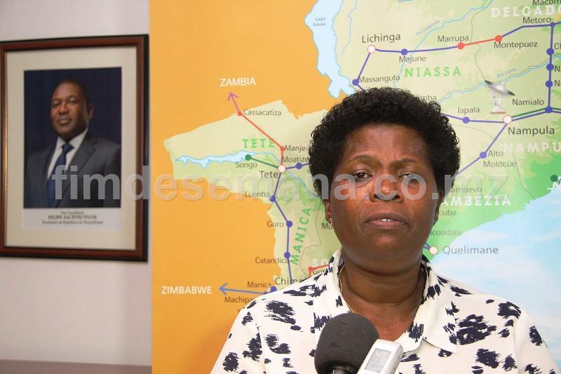 Conceita Sortane Cabeça de lista do Circulo Eleitoral da Cidade de Maputo pela Frelimo