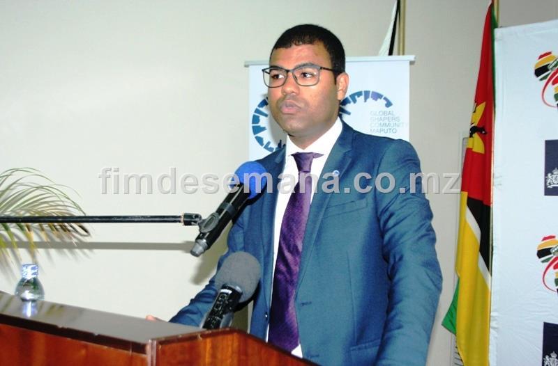Daúdo Vali representante da Global Shapers Maputo