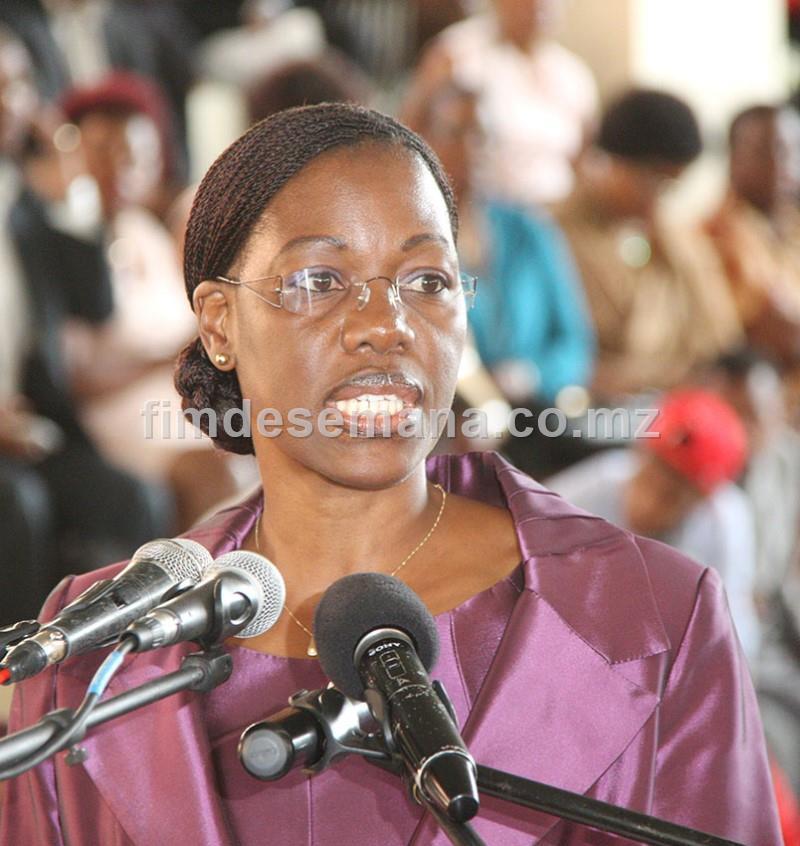 Iolanda Cintura Governadora da Cidade de Maputo