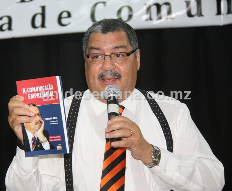 Leandro Paul orador da palestra