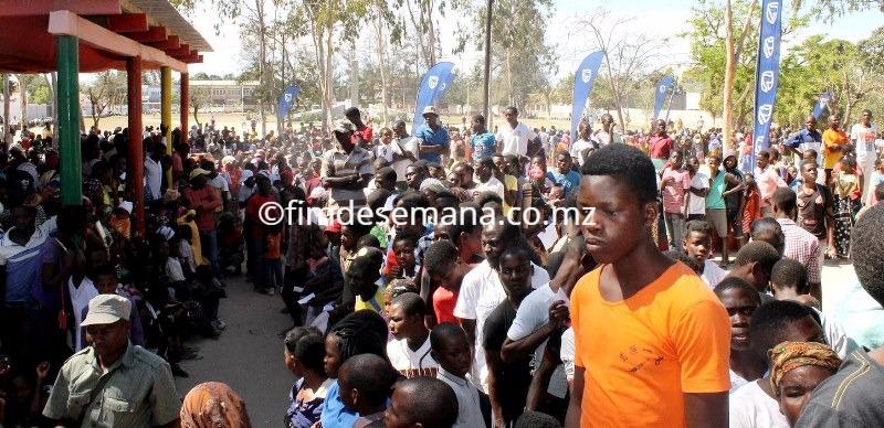A populaação de Nacala aderiu em massa ao projecto de cidadania do Standard Bank