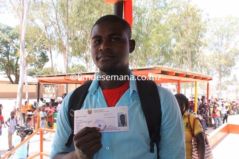 Adriano Rodolfo Beneficiário da campanha de cidadania do Standard Bank