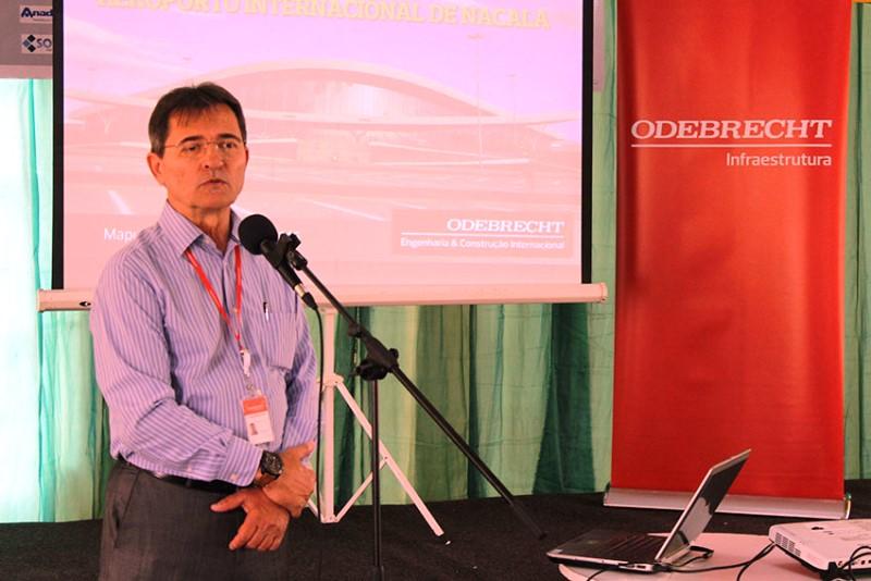 Jorge Maltezinho responsável pelas obras do Aeroporto Internacional de Nacala