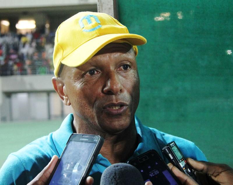 Artur Semedo Treinador da Equipa da União Desportiva de Songo