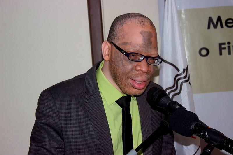 Carlos Mondlane Presidente da Associação Moçambicana de Juizes AMJ
