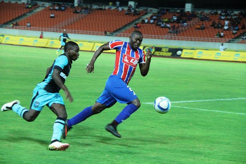 Fase do jogo da final da Taça Moçambique mcel