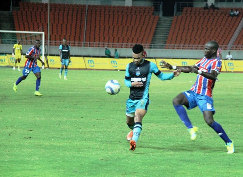 Fase do jogo da final da Taça Moçambique mcel 1
