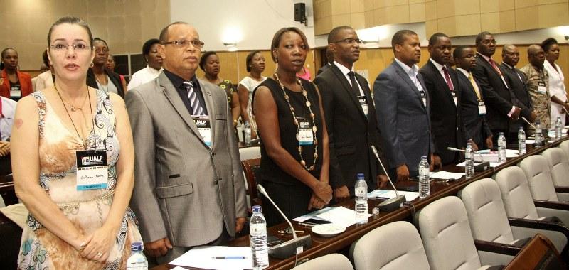 Participantes no IV Congresso da União dos Advogados de Língua Portuguesa
