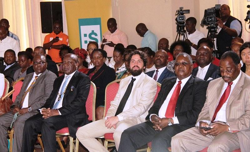 Participantes no lançamento do MOPA