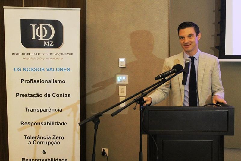 Andreas Fransius conselheiro Político da Embaixada da Suécia em Moçambique 2