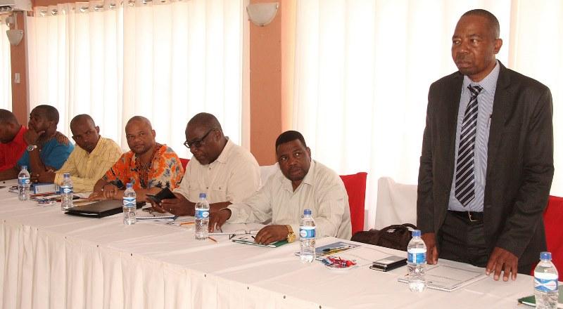 Participantes na Senssão do Conselho de Administração alargada do INSS 2