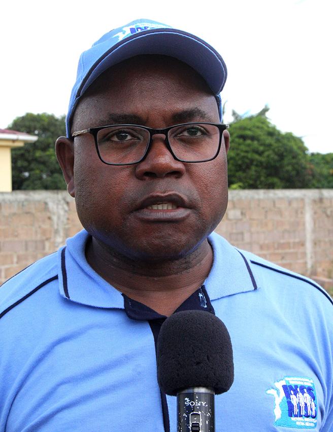 Elias Ernesto Delegado Substituto do Director Geral do INSS a nível da Cidade de Maputo