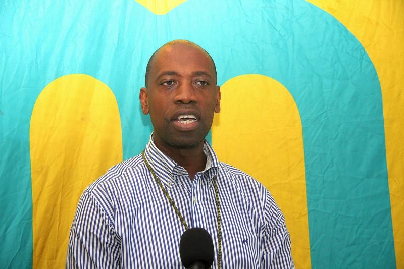Abílio Mutemba representante da mcel