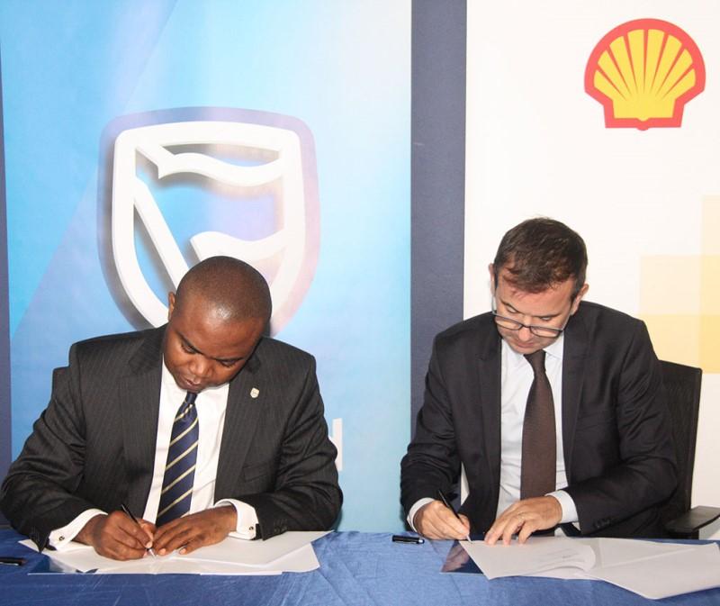 Assinatura de memorando de entendimento entre Standard Bank e Shell