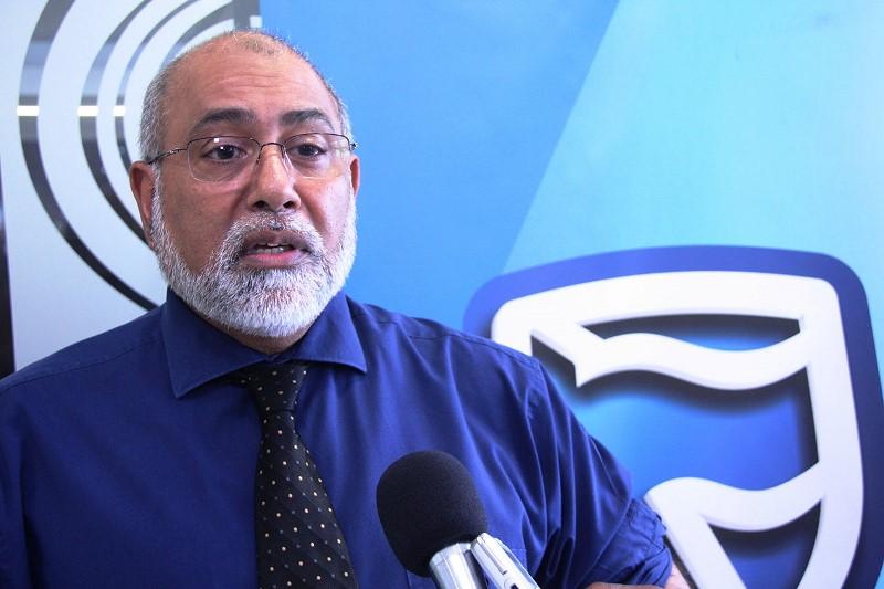 Camal Daúde Representante do Standard Bank