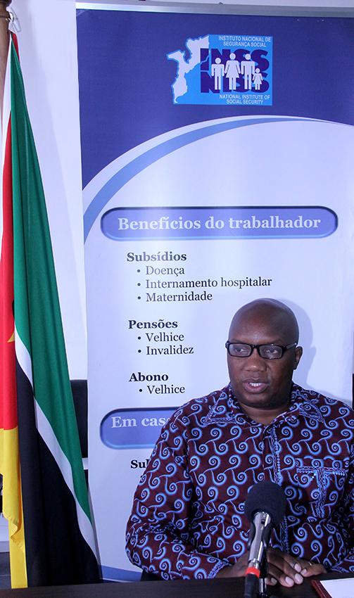 Sarmento Senda Delegado do INSS a nível da Cidade de Maputo 2