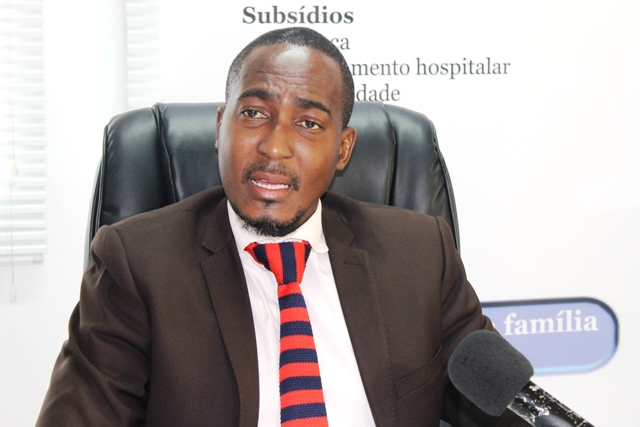 Edson Domingos Delegado Provincial de Maputo do INSS 3