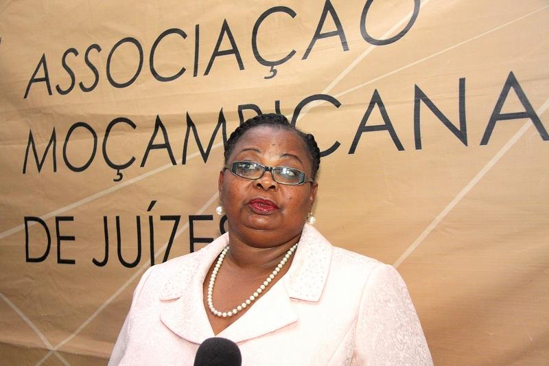 Osvalda Joana Presidente do Fórum Nacional dos Magistrados que actuam em casos de violência doméstica