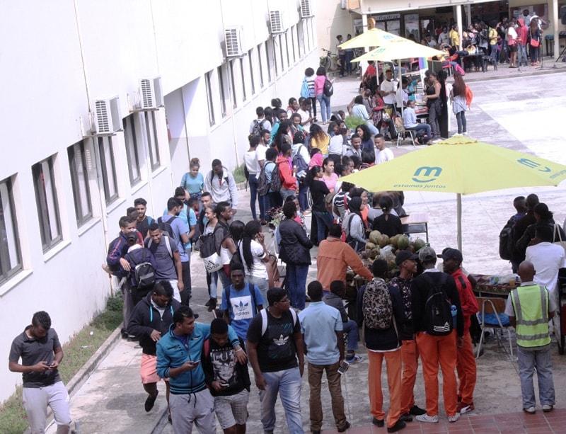 Participantes do dia aberto