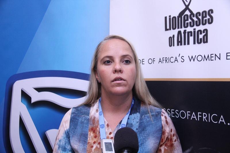 Sasha Vieira responsável pela incubadora de negócios do Standard Bank