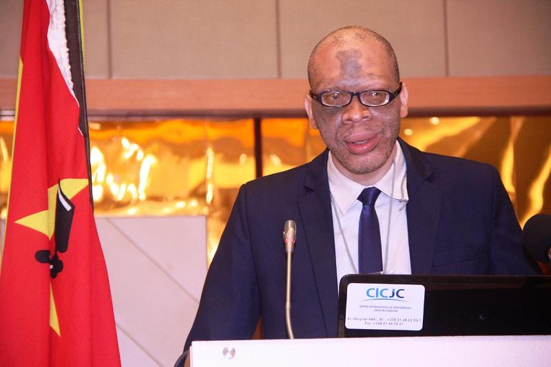 Carlos Mondlane presidente da AMJ