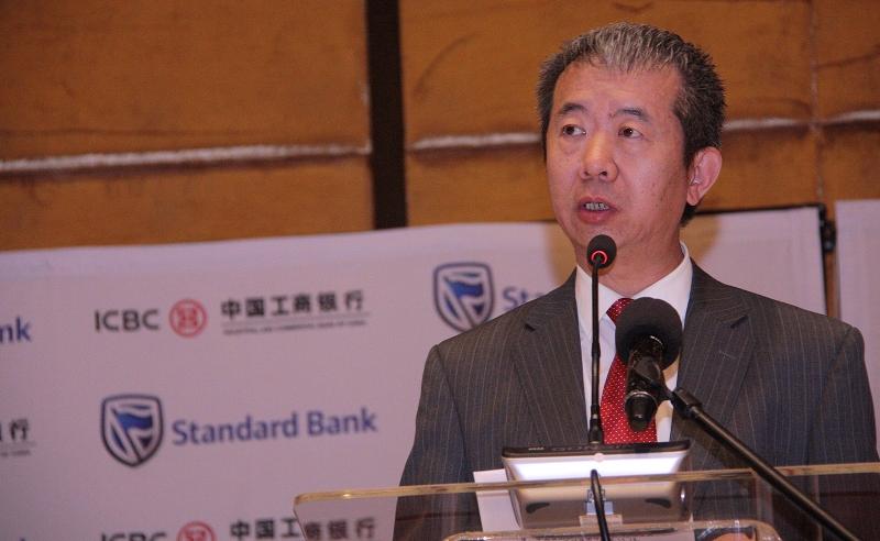 Jian Su Embaixador da China em Moçambique