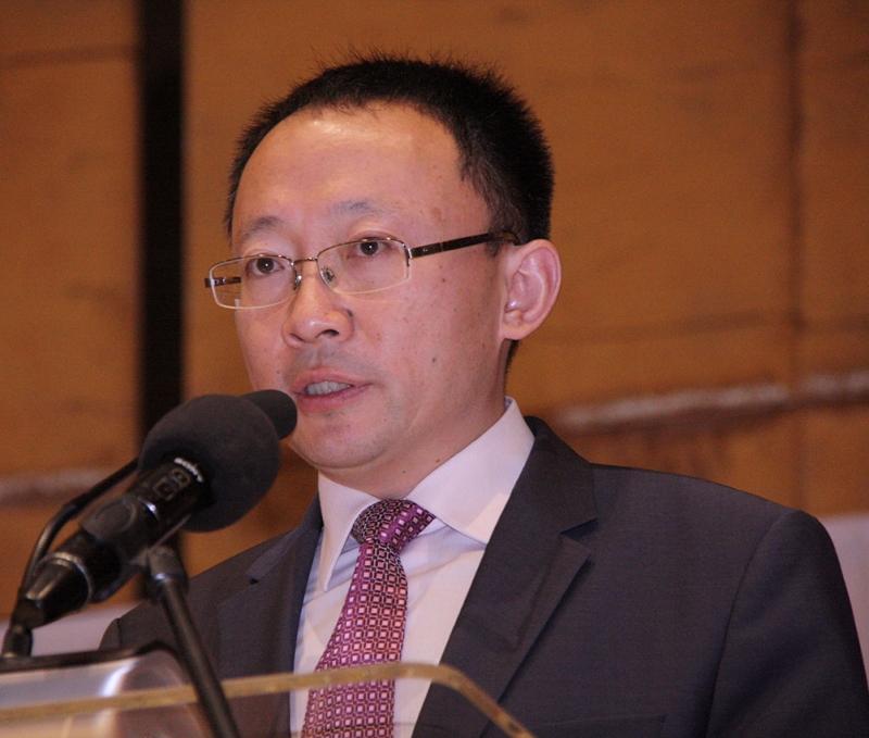 Lubin Wang representante do ICBC