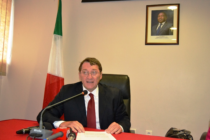 Marco Conticelli Embaixador da República da Itália em Moçambique 2