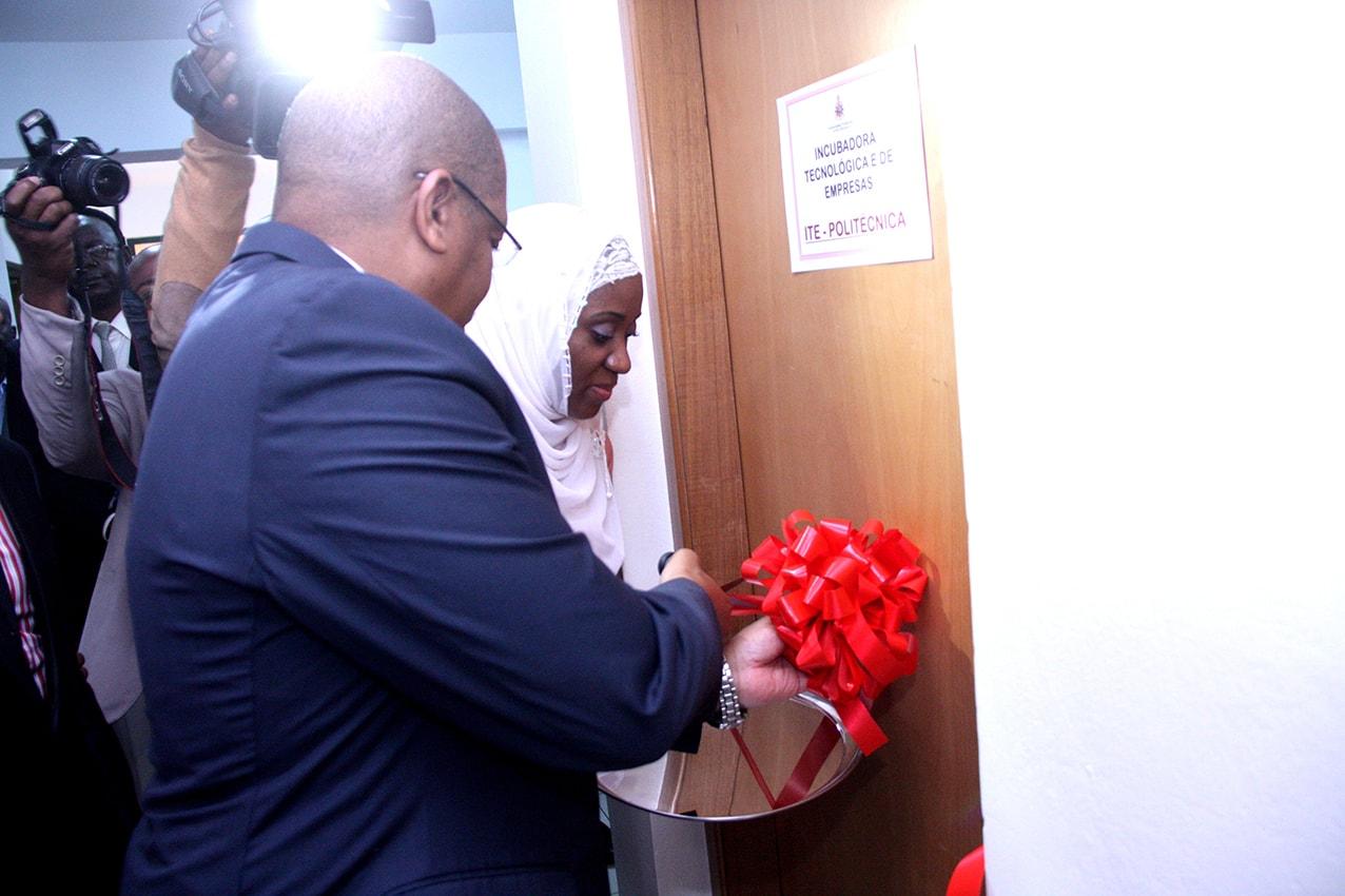Inauguração da Incubadora Tecnologias e de Empresas