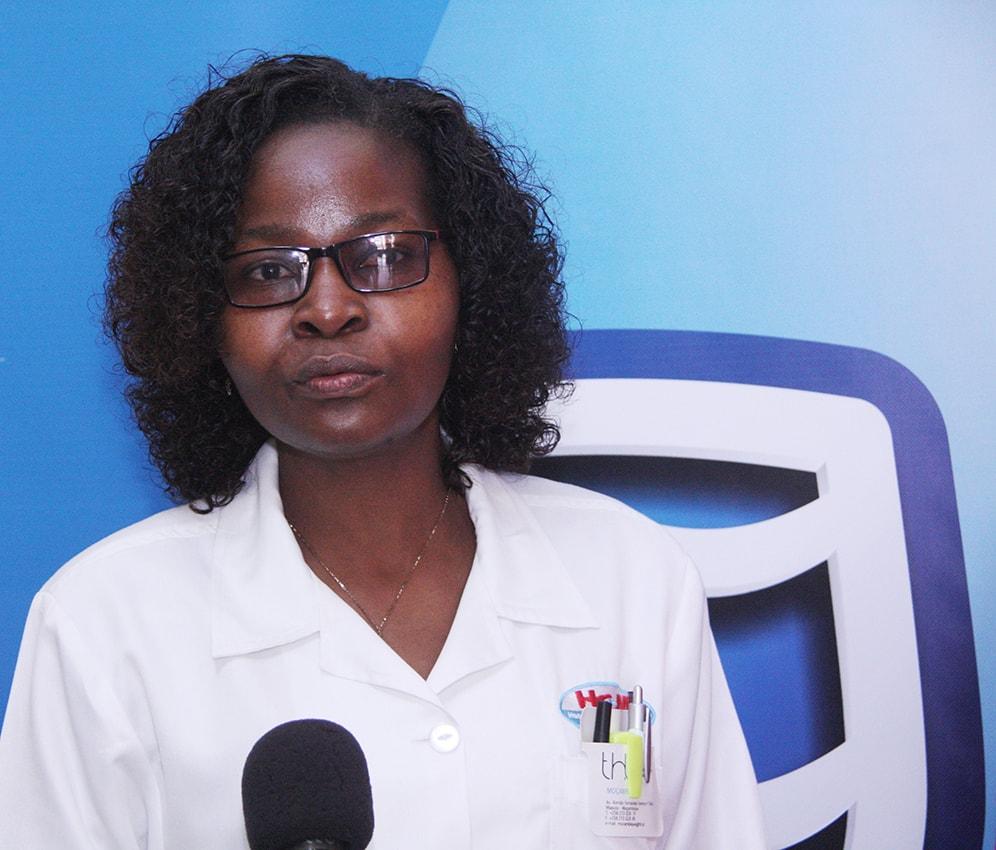 Sandra Oficiano Directora do Banco de Sangue do HCM
