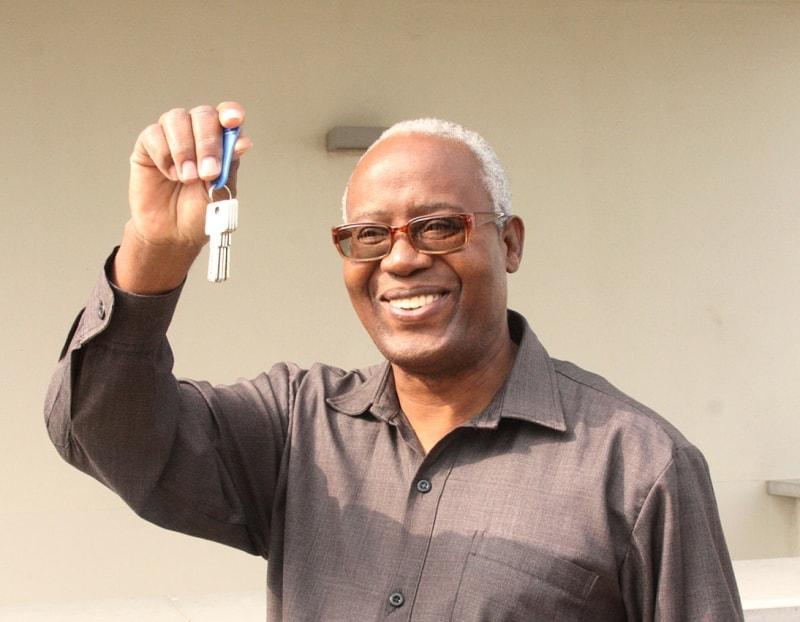 PCA exibe as chaves do imóvel