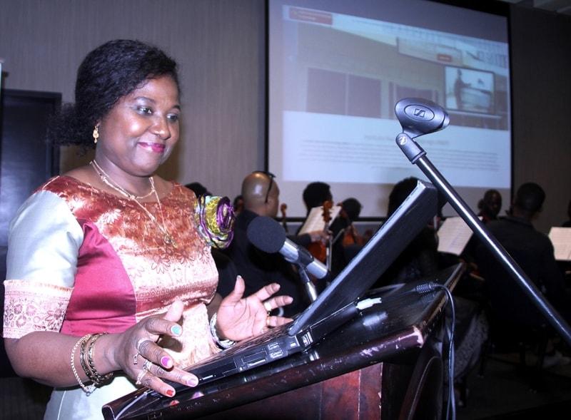 Acto de lançamento do Portal de Emprego pela Ministra do Trabalho Emprego e Segurança Social