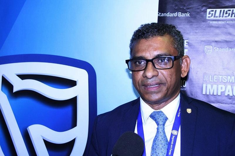 Liacate Khan responsável pela ligação entre a Incubadora de Negócios do Standard Bank e as PMEs