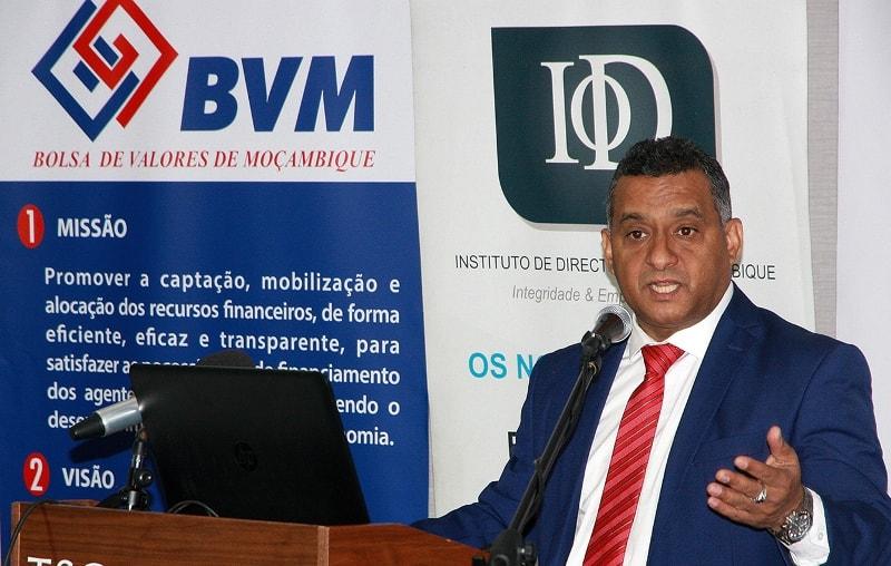 Salim Valá PCA da Bolsa de Valores de Moçambique