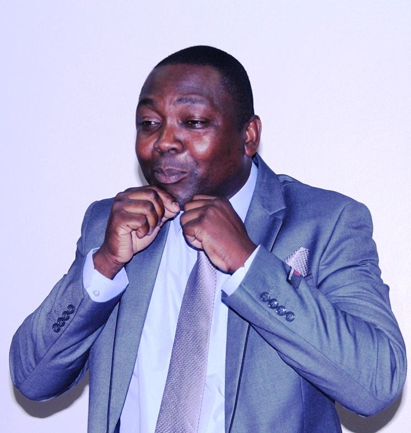 Agostinho Foliche Presidente da Associação dos Surdos de Moçambique