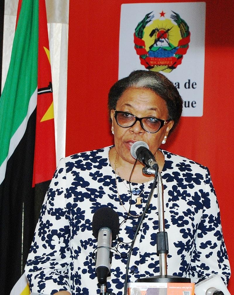 Ema dos Santos Chicoco Presidente do Conselho de Administraçao do Instituto de Comunicações de Moçambique