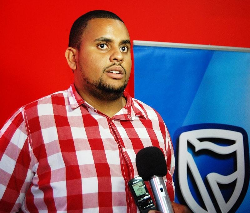 Marcel Saraiva colaborador do Standard Bank