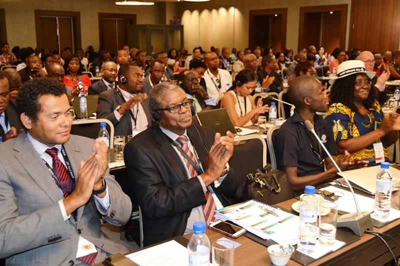 Participantes do Fórum das TICs 2017 das Comunicações da Commonwealth CTO