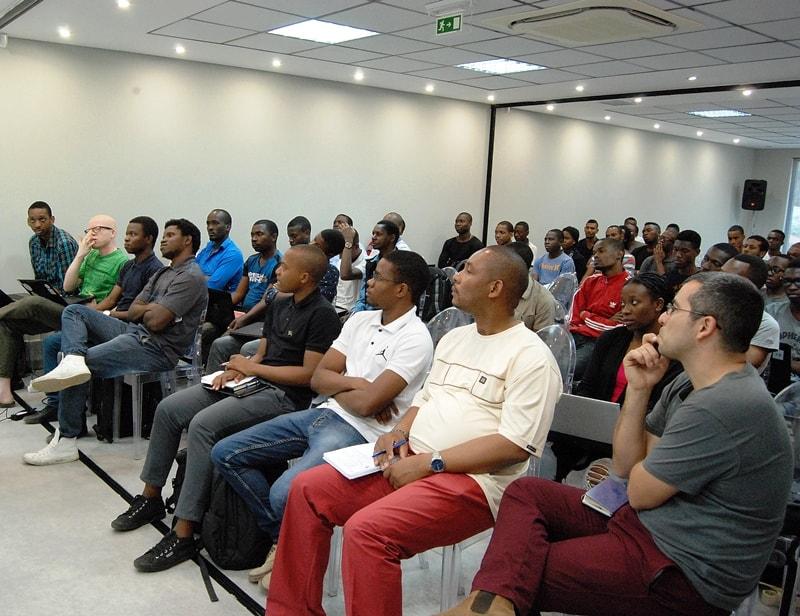 Participantes do workshop 2