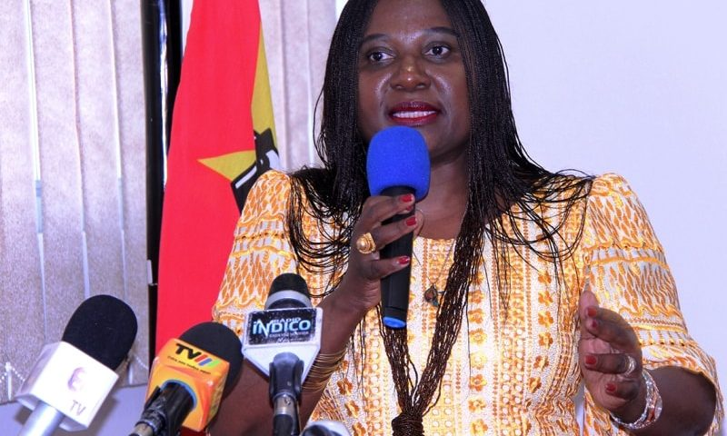 Vitória Dias Diogo Ministra do Trabalho Emprego e Segurança Social