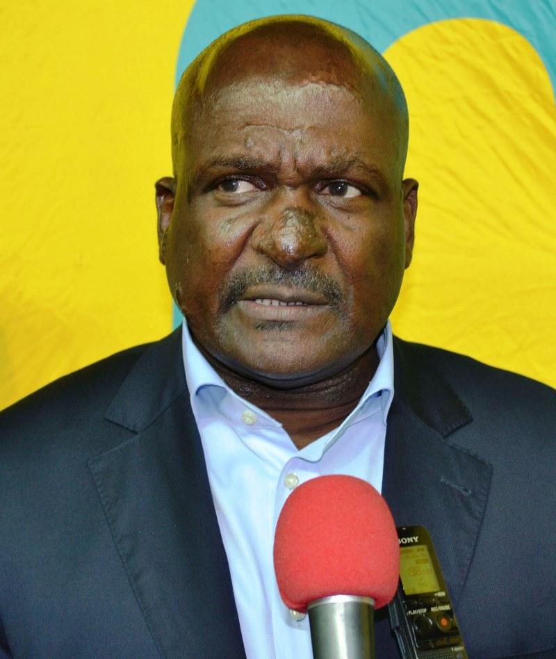 Alberto Simango presidente da Federação Moçambicana de Futebol