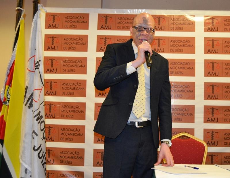 Carlos Mondlane presidente da Associação Moçambicana de Juízes