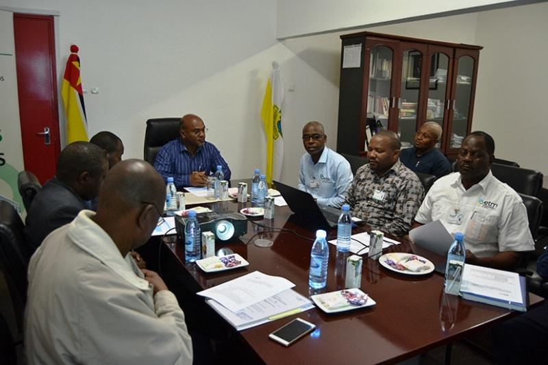 Encontro com o Conselho de Administração da Empresa Municipal de Transportes da Matola