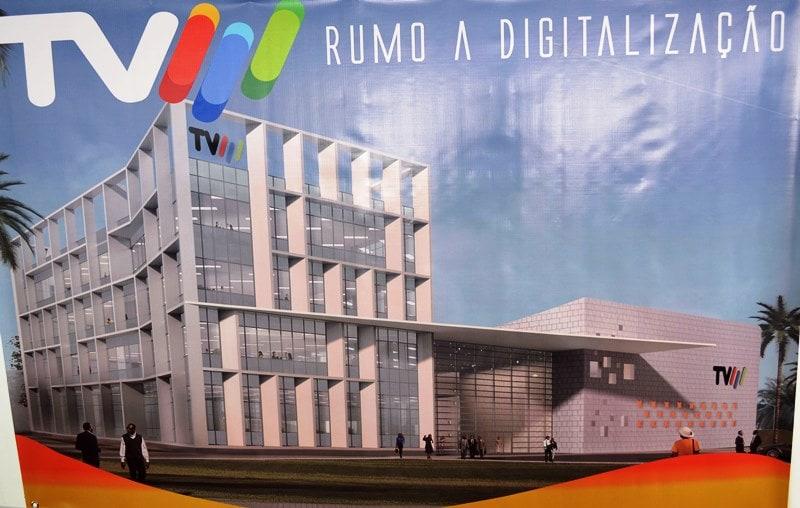 Esboço do futuro centro de produção da TVM