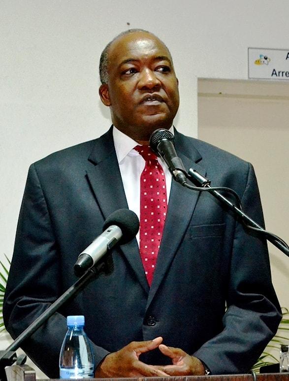 Jorge Ferrão reitor da Universidade Pedagógica