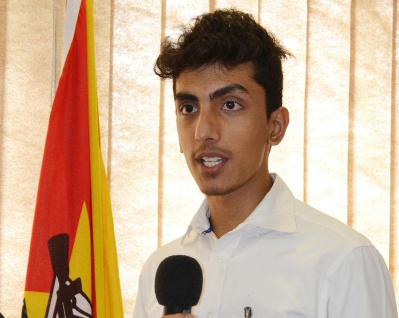 Mohamed Ivaz estudante estagiário