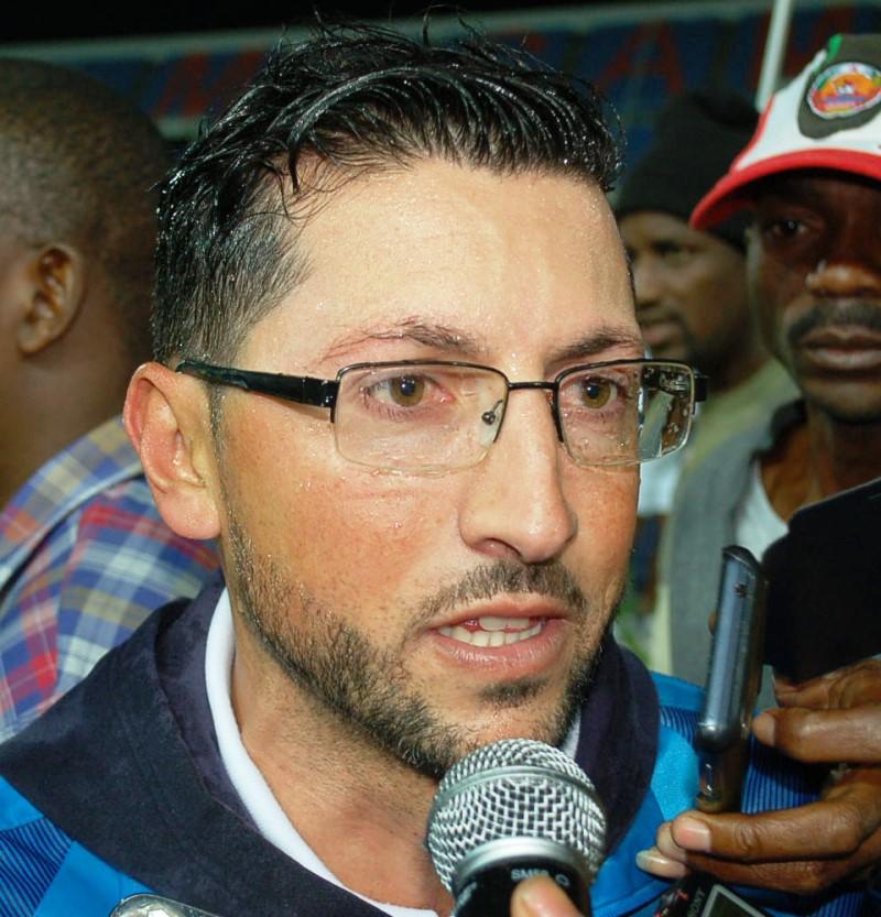 Nelson Santos treinador do Costa do Sol 1