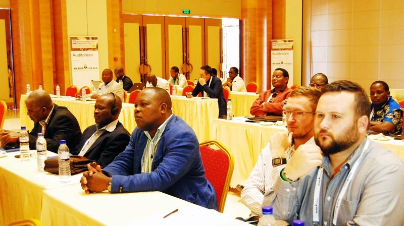 Participantes da conferência
