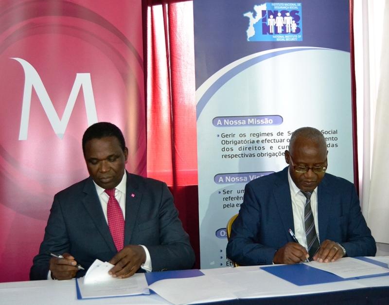 Assinatura do acordo entre Millennium Bim e INSS