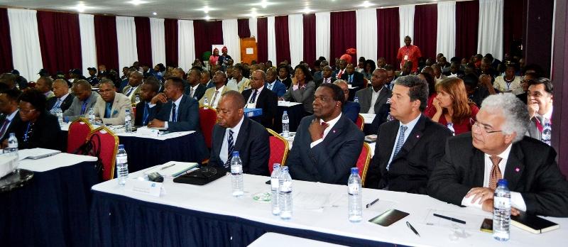 Partes dos participantes à reunião